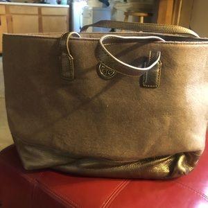 Beautiful beige Tory Burch bag